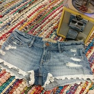 2 for $22!! Hollister Lace bottom shorts